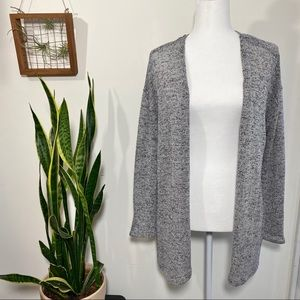 H&M divides gray light weight cardigan size small